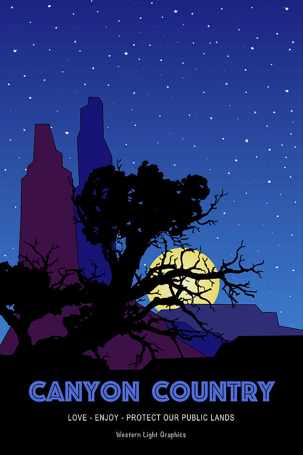 Canyon Country Night by WiseWild57