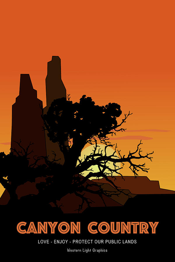 Canyon Country Sunset by WiseWild57