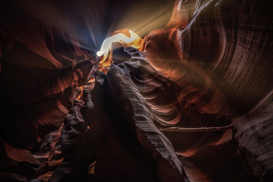 Arizona Photograph - Canyon Sun Flare  by Framing Places