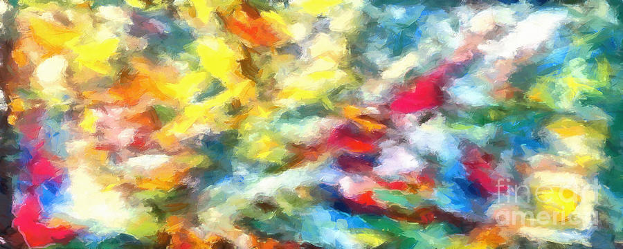 Complex Painting - Caos In Colors 2 by Stefano Senise