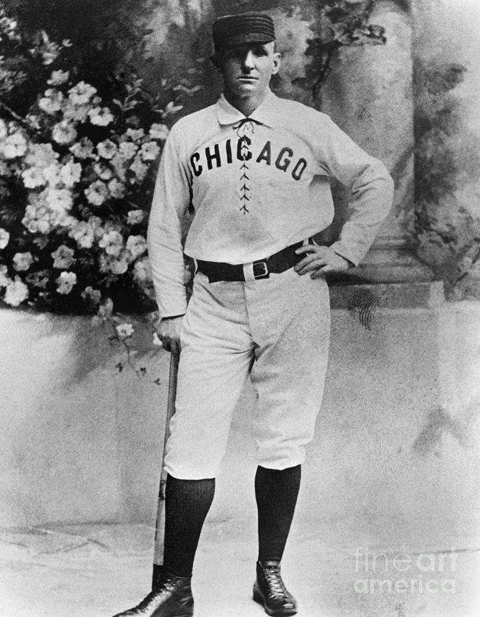 Cap Anson Photograph by National Baseball Hall Of Fame Library