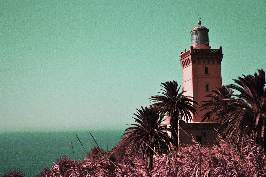 Cap Spartel Lighthouse, Morocco - Surreal Art By Ahmet Asar Digital Art