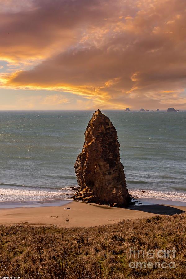 Cape Blanco Sunset Photograph