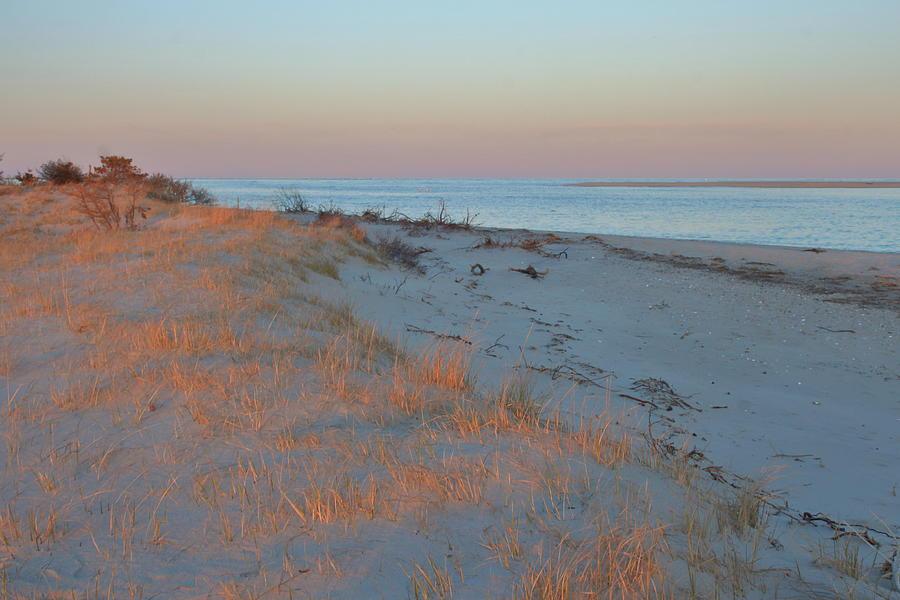 Cape Cod Beach Evening Light Photograph