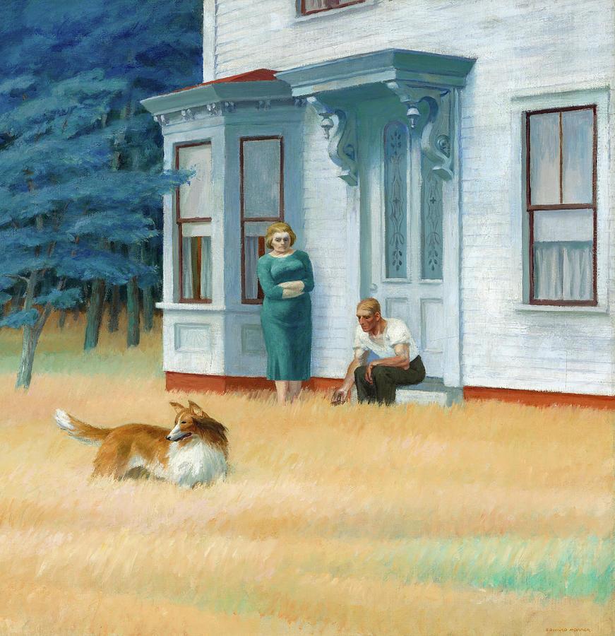 Edward Hopper Painting - Cape Cod, Massachusetts by Edward Hopper