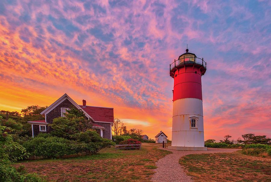 Cape Cod Nauset Lighthouse Photograph
