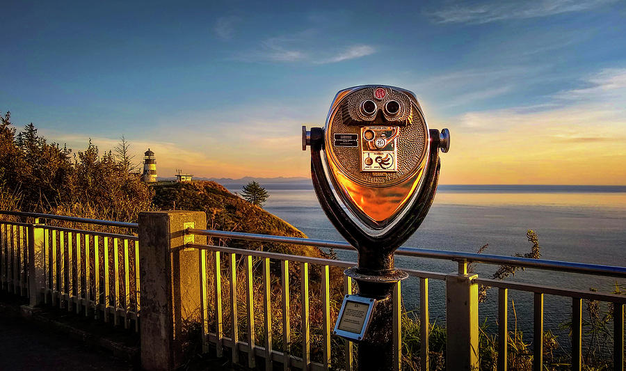 Cape Disappointment Light by John Poon
