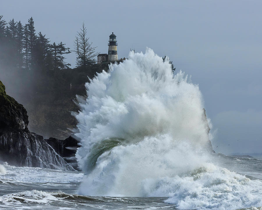 Cape Disappointment Not Disappointing by Wes and Dotty Weber