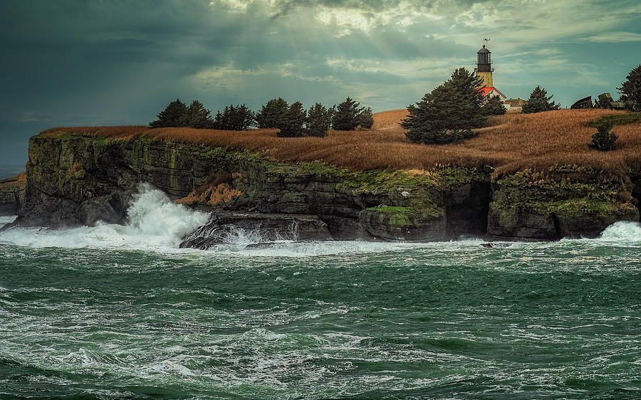 Cape Flattery Lighthouse by Thomas Hall