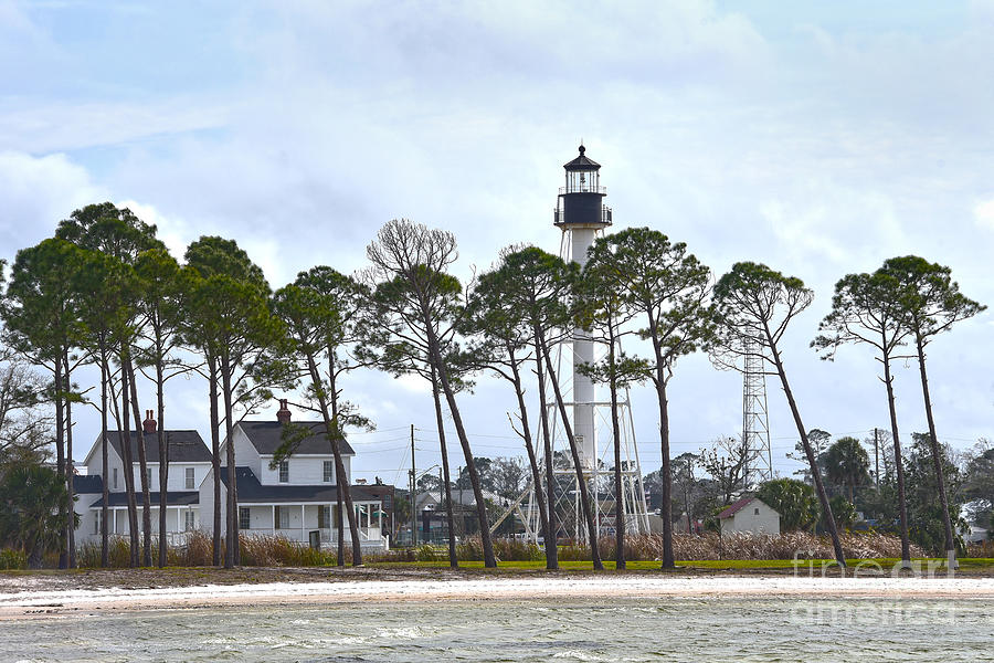 Cape San Blas Lighthouse, Florida Photograph