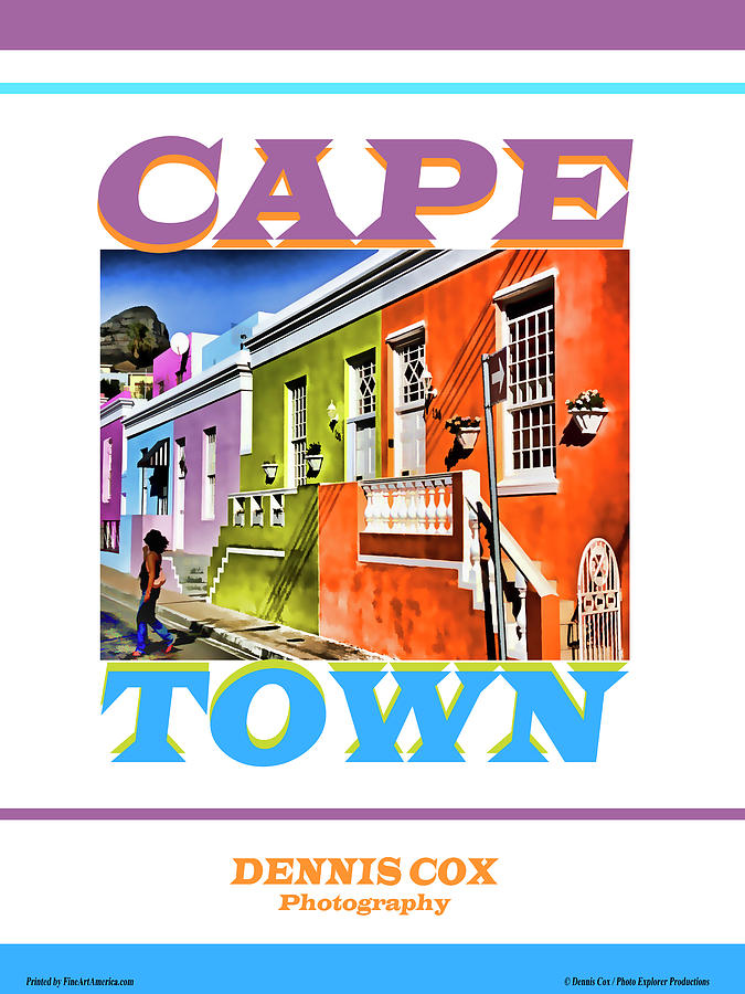 Cape Town Travel Poster Photograph