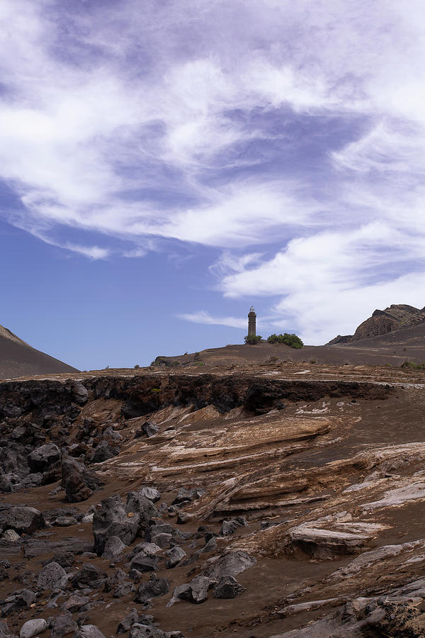 Capelinhos Lighthouse 01 by Edgar Laureano