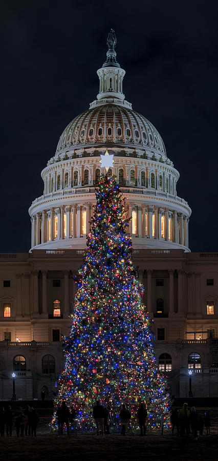 Capitol Christmas 2019 2 by Robert Fawcett