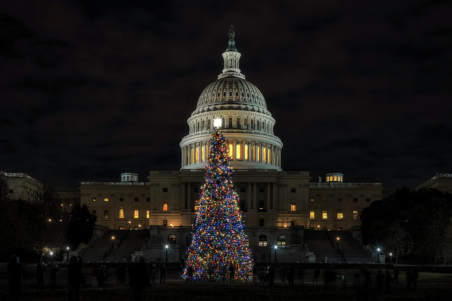 Capitol Christmas 2019 3 by Robert Fawcett