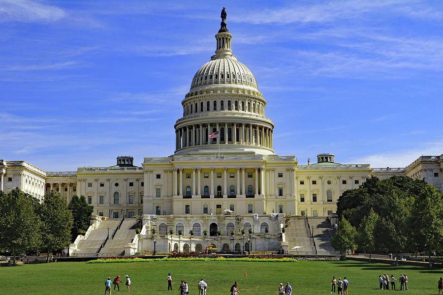 Capitol Hill, Washington DC by Tony Murtagh