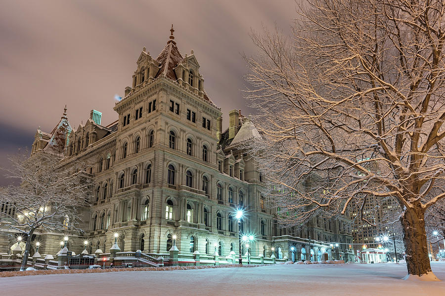Capitol Nights by Brad Wenskoski