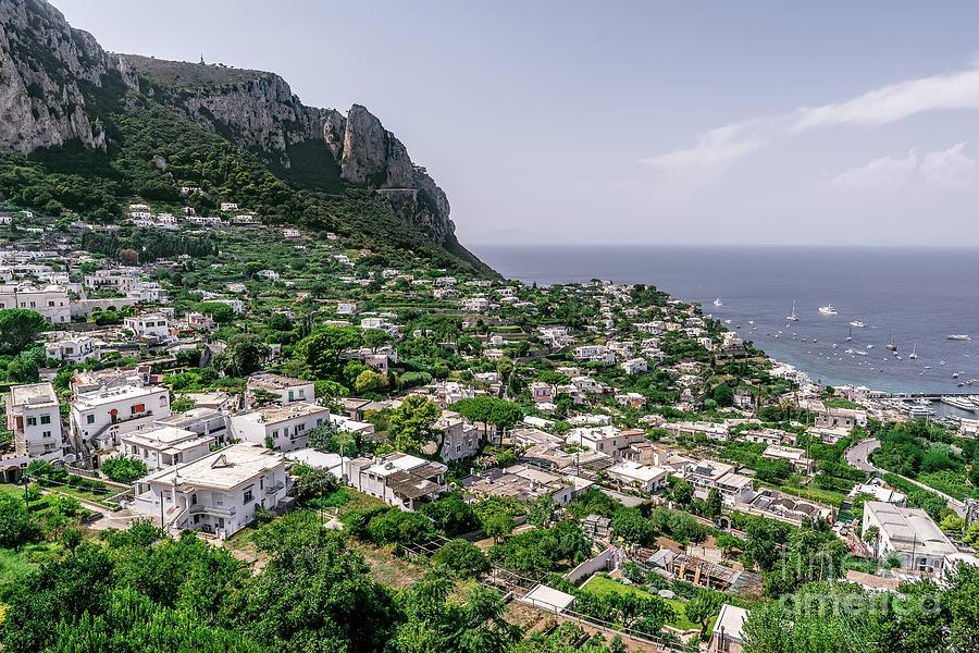 Capri Photograph - Capri  by Kasra Rassouli