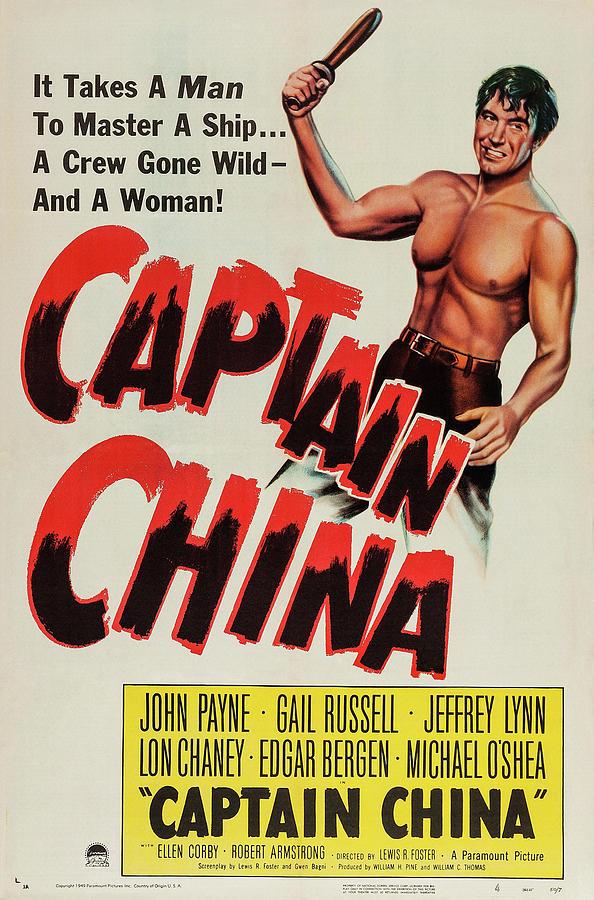 captain China - 1950 Mixed Media