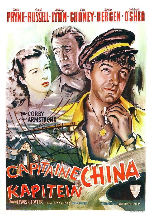 John Mixed Media - Captain China 2 - 1950 by Stars on Art