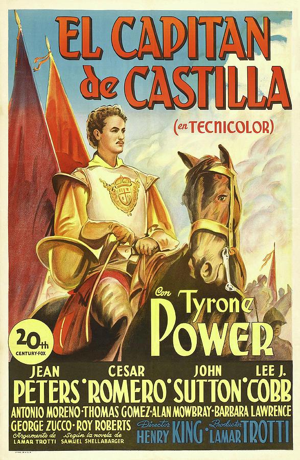 captain From Castile - 1948 Mixed Media