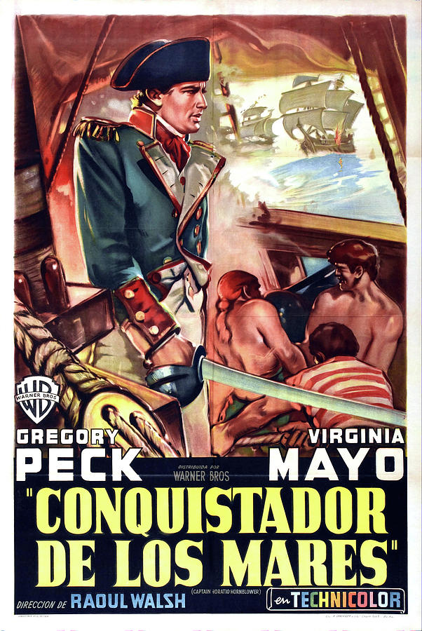 captain Horatio Hornblower  With Gregory Peck And Virginia May, 1951 Mixed Media