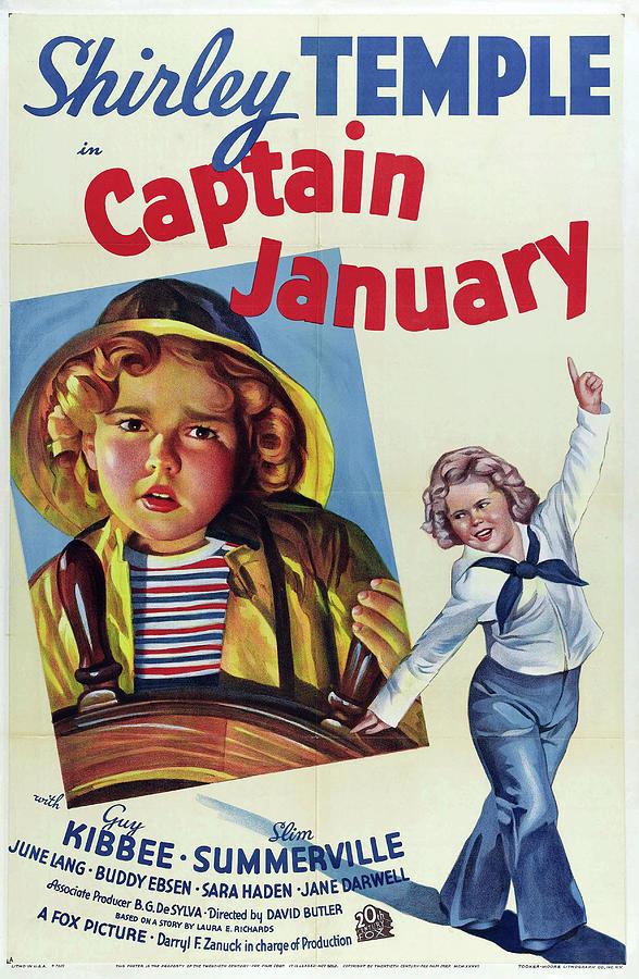 captain January - 1936 Mixed Media