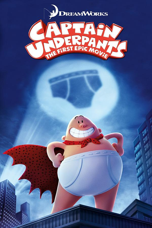 Captain Underpants The First Epic Movie 2017 Digital Art By Geek N Rock