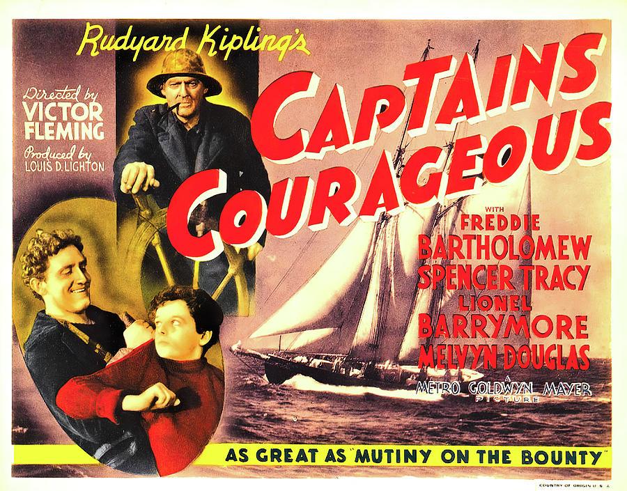 captains Courageous - 1937 Mixed Media