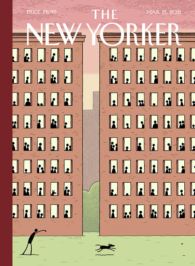 Captive Audience Painting by Tom Gauld