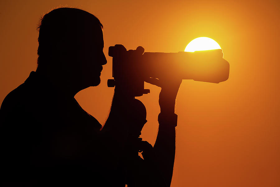 Capturing The Light Photograph