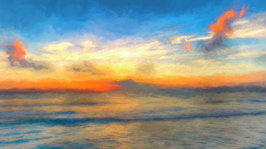 Caribbean Art Panorama Photograph