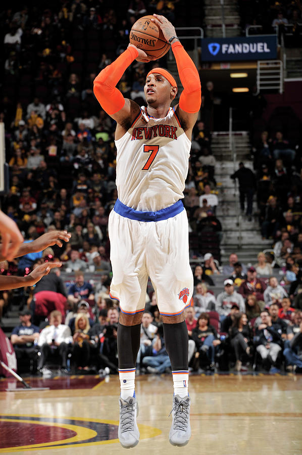 Carmelo Anthony Photograph by David Liam Kyle