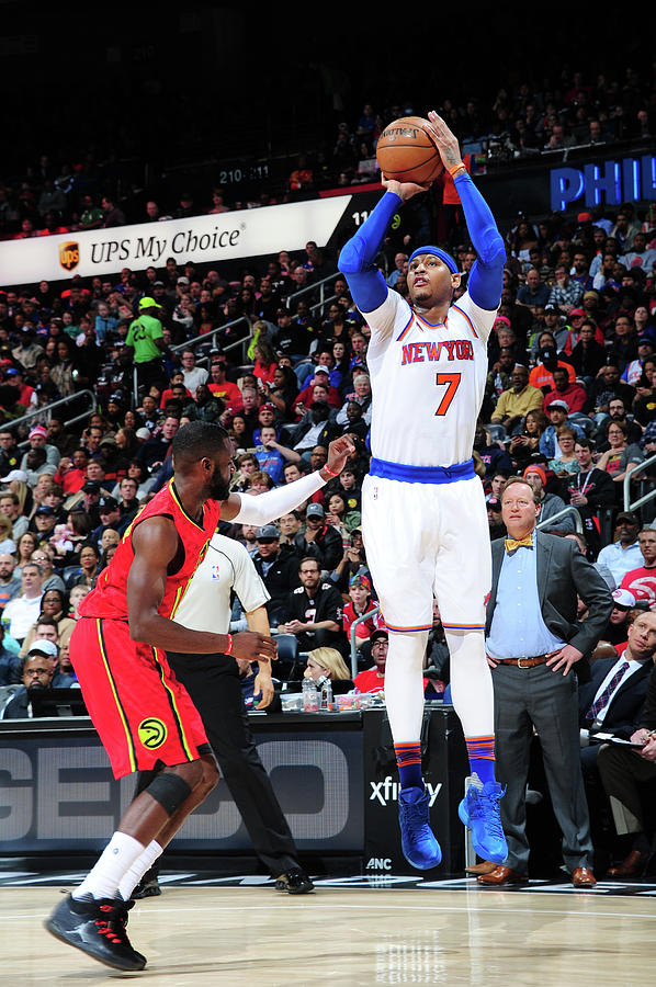 Carmelo Anthony Photograph by Scott Cunningham