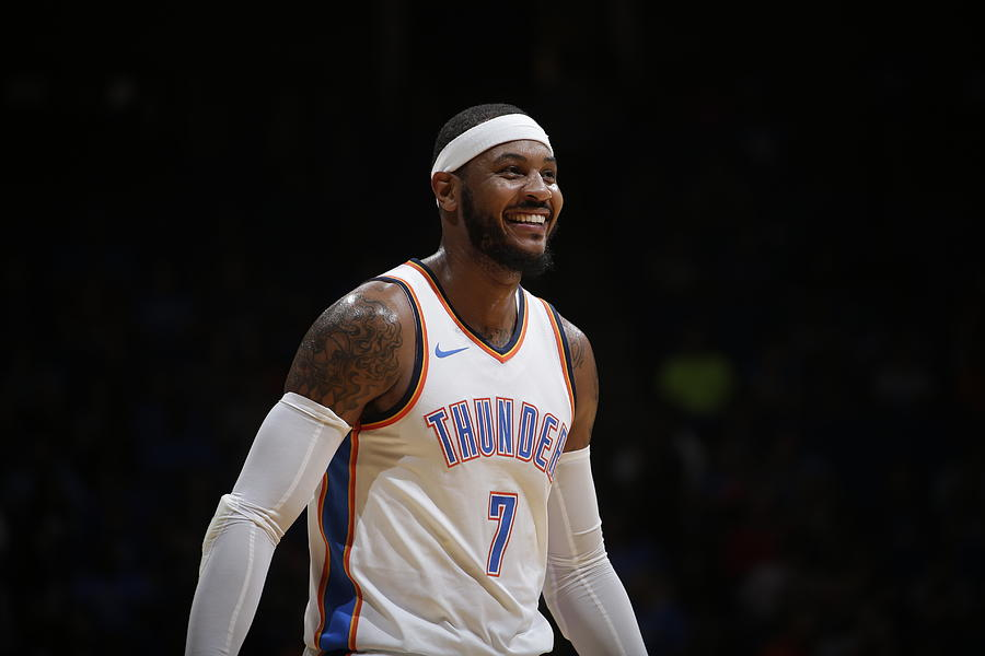 Carmelo Anthony Photograph by Shane Bevel