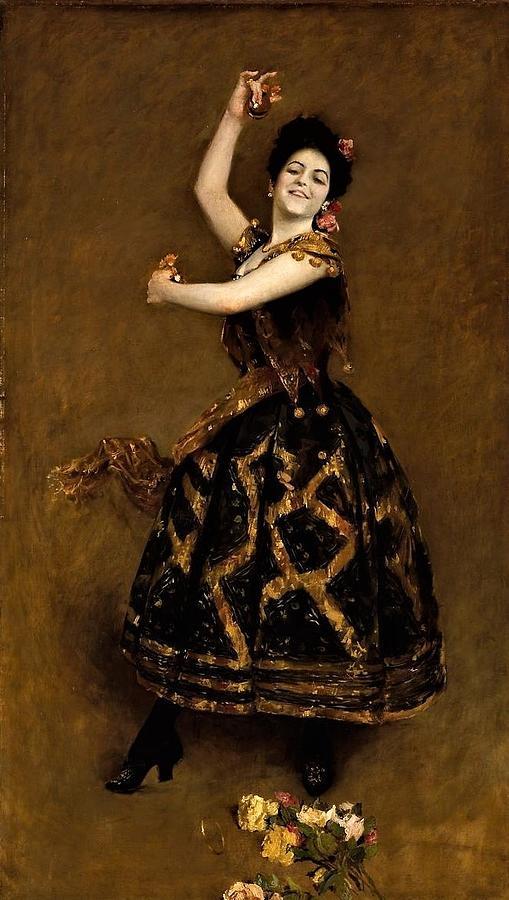 Carmencita Painting