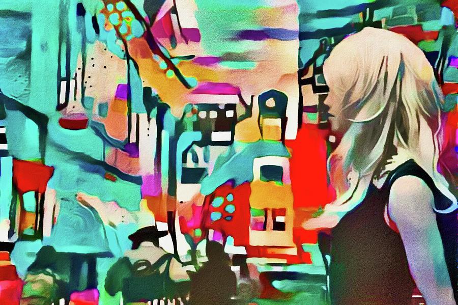 Carnaby Street Digital Art