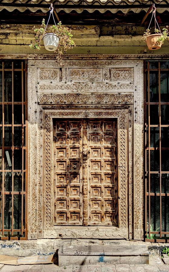 Carved Door Istanbul by Weston Westmoreland