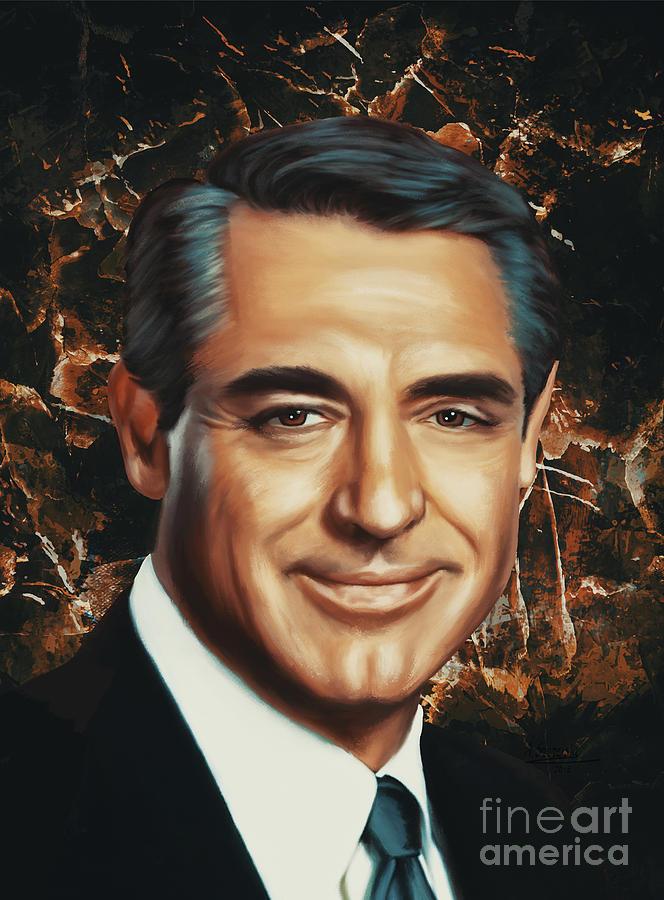 Cary Grant by Andrzej Szczerski