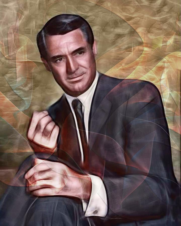 Cary Grant Digital Art - Cary Grant by John Robert Beck