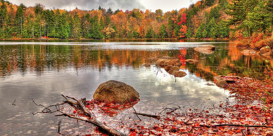Cary Lake Reflections by David Patterson