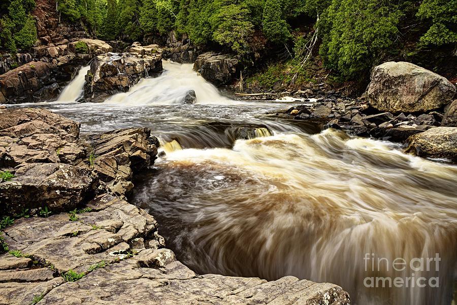 Cascade Falls by Larry Ricker