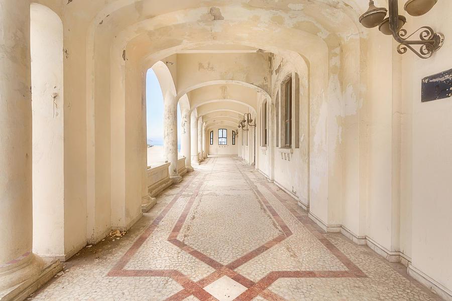 Casino Hallway by Roman Robroek