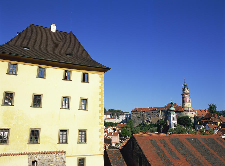 Castle, Cesky Krumlov, Czech Republic Photograph by Dallas and John Heaton