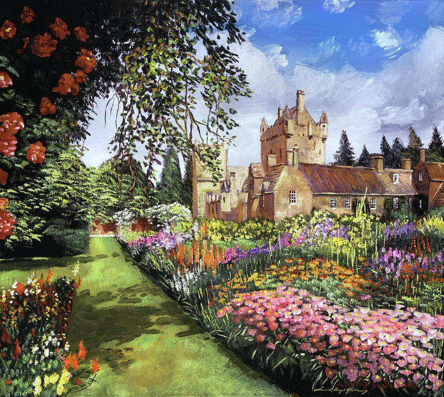 Castle Gardens Painting