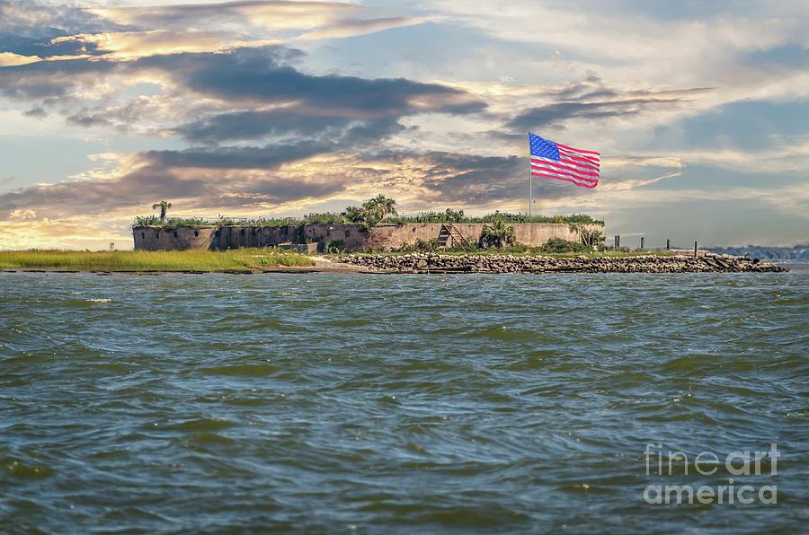 Castle Pinckney Bastion - Charleston South Carolina Photograph
