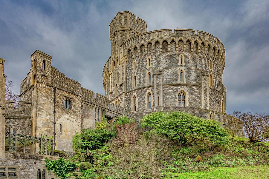 Castle Tower of Windsor by Marcy Wielfaert