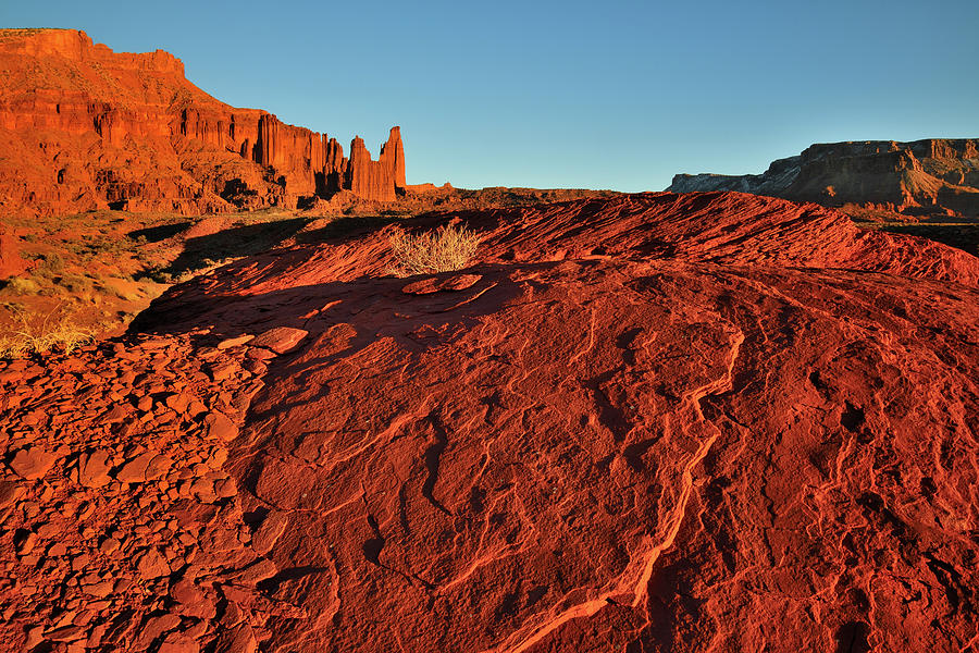 Castle Valleys Fisher Towers Photograph