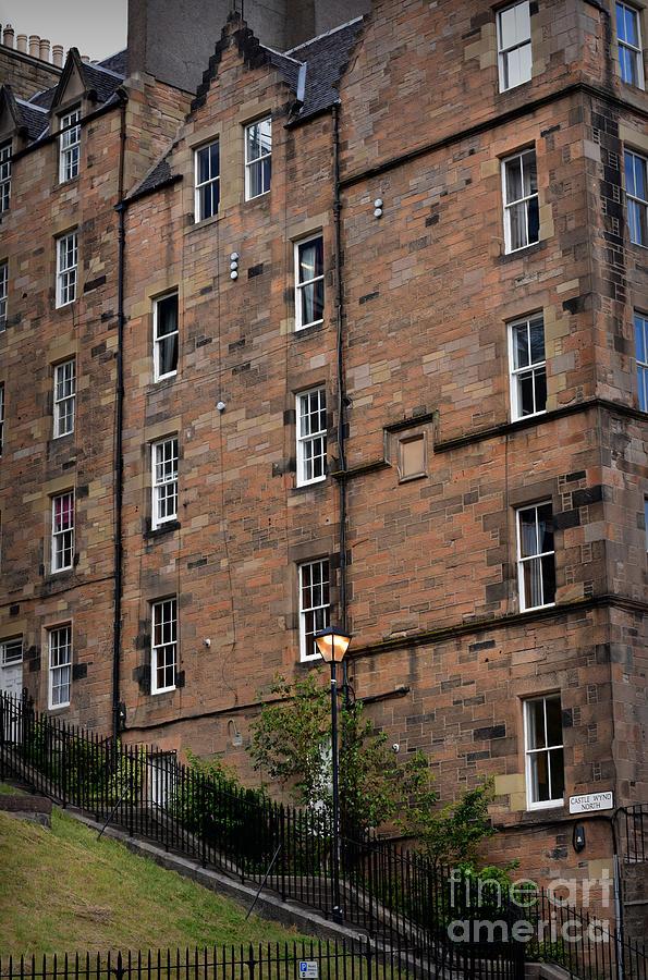 Castle Wynd North, Edinburgh - Architecture by Yvonne Johnstone
