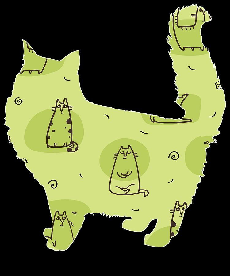 Cat Memes Digital Art - Cat 180 by Kaylin Watchorn