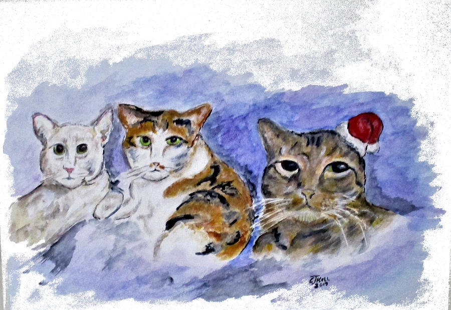 Cat Pals by Clyde J Kell